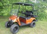 Orange E-Z-GO TXT