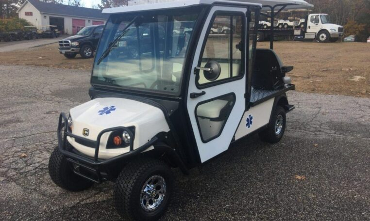 2018 Cushman Shuttle 2 Gas Ambulance Vehicle
