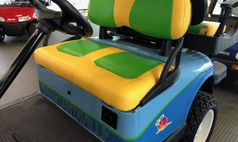 Custom Margaritaville Golf Cart