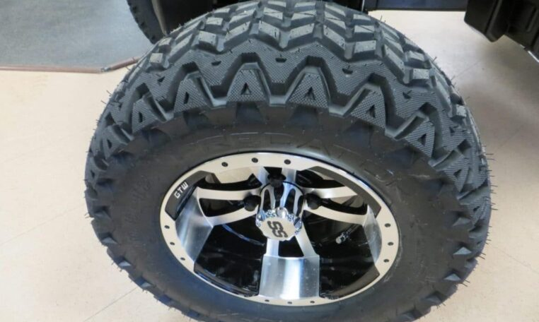 Custom Golf Cart Tires and Rims