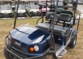 Blue EZGO Golf Car