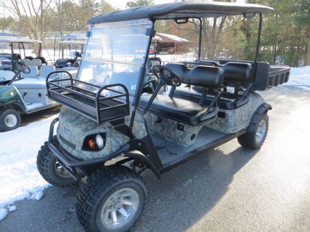 EZGO Hunting Golf Cart