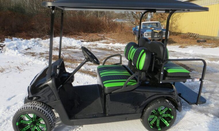 Cars For Sale In Maine >> Black and Green Custom E-Z-GO RXV-Electric - New, Used ...