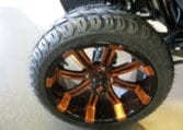 Black and Orange Custom E-Z-GO TXT-Electric