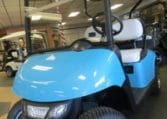 Blue Custom E-Z-GO RXV-Electric
