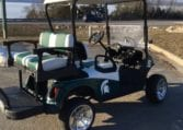 Custom Michigan State Golf Car