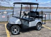 2015 EZGO RXV 4-Passenger Gas Reconditioned Color: Platinum Serial Number:5370667